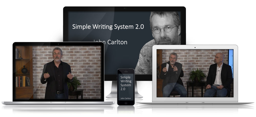 John Carlton's Simple Writing System Video