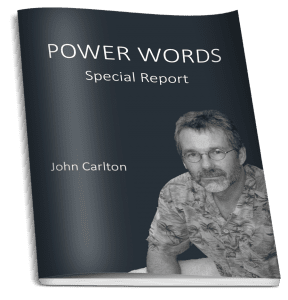 John Carlton's Power Words Report